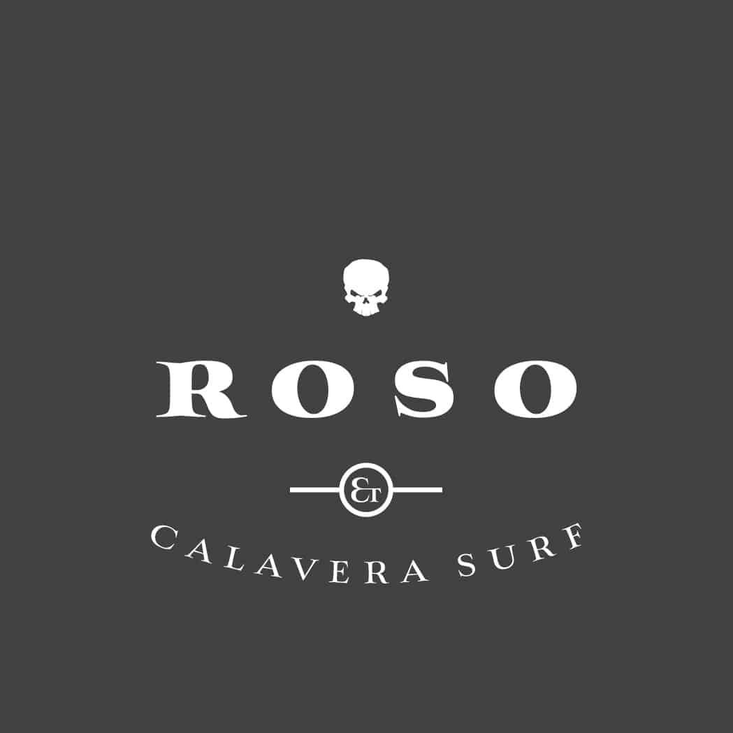 Roso y Calavera Surf Logo