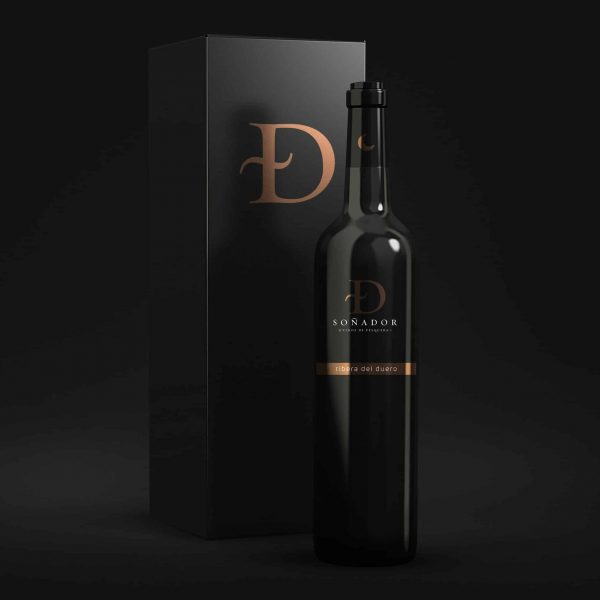 Packaging Vino Ribera del Duero.